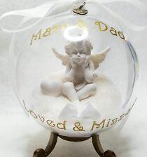 MAM, DAD OR NAMED MEMORIAL GLOBE