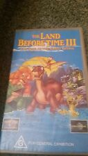THE LAND BEFORE TIME 3 THE TIME OF GREAT GIVING -  VHS VIDEO