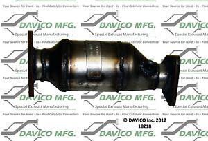 Catalytic Converter-Exact-Fit Front Left Davico Exc CA 18218