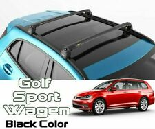 Volkswagen Golg Alltrack Roof Rack-Crossbars Fits to for Flush Roof Rails Black
