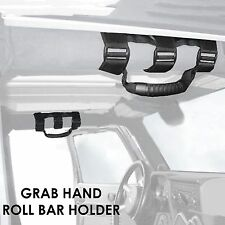 Roll Bar Grab Handle Handles Black (PAIR) for Jeep Wrangler CJ YJ TJ JK
