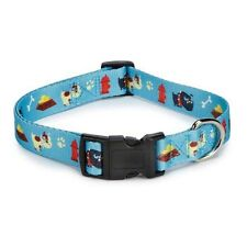 """Tough Dog"" Collar Dog Collars Blue  Tuff Casual Canine Pet"