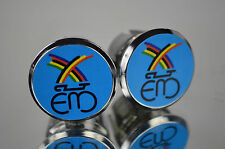 new Eddy Merckx blue Handlebar End Plugs, plug Bar End Caps vintage bouchons