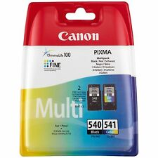 Genuine Canon PG540 CL541  Ink Cartridges For PIXMA MG2150 MG3150 MG3550 Printer
