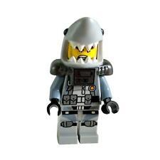 1 LEGO Minifigure Shark Army Great White - Scuba Suit, Airtanks