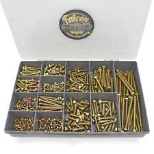 500 Assorted M4 M5 M6 Yellow Zinc High Tensile 8.8 Set Screws Bolts Ht Din933