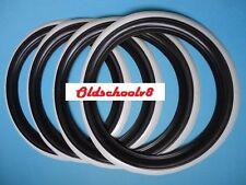 "ATLAS Firestone style 14"" Black&Whitewall Portawall Tire insert Trim set 4 pcs"