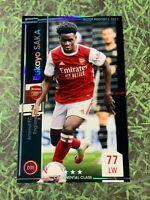 Panini WCCF Footista2021 Bukayo Saka Arsenal England Rookie card F21-R