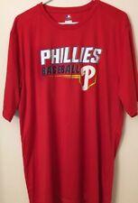 Philadelphia Phillies Men's Tee Size XL, TX3 Cool Performance Short Sleeve