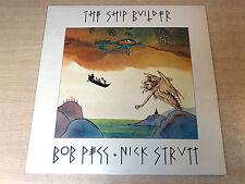 EX-/EX !! Bob Pegg & Nick Strutt/Shipbuilder/1974 Transatlantic LP + RARE Insert
