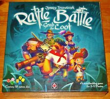 RATTLE, BATTLE, GRAB THE LOOT A Dice/Ship Building Game NEW/SEALED/FREE SHIPPING