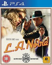 L.A. Noire   PlayStation 4 PS4 Précommande