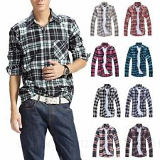 Flannel Long Sleeve Casual Shirts for Men