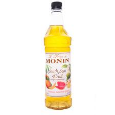 Monin South Seas Blend Cocktail Syrup - 1 Liter - Bar Drink Mixology Flavors