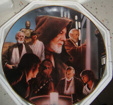HAMILTON COLLECTION OBI WAN KENOBI STAR WARS HEROES & VILLAINS PLATE Figurine