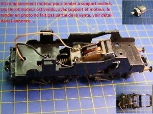 KIT ReMotorisation TENDER 36 P locomotive vapeur support moteur incliné JOUEF HO