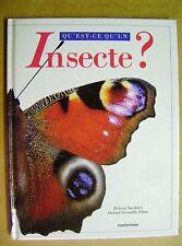 Qu'est-ce qu'un insecte?  /Z125