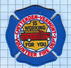 Fire Patch - Chittendon Vermont