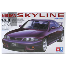 Tamiya Nissan Skyline GT-R R33 V-Spec Model Set (Scale 1:24) 24145 NEW