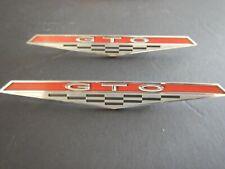 1964-1965 Pontiac LeMans GTO Fender Emblem 9775808 Original