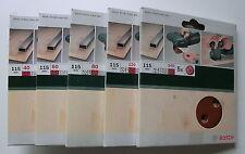 20 Fächerscheiben K40-120 MIX Standard 115 mm Braun Holz Metall Schleifmopteller