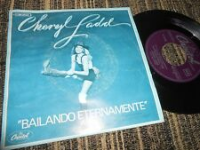 """CHERYL LADD DANCE FOREVER/THUNDER IN THE DISTANCE 7"""" 1979 CAPITOL SPAIN"""