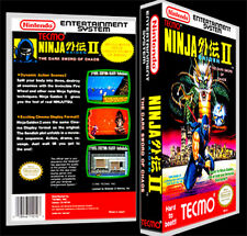 Ninja Gaiden 2  - NES Reproduction Art Case/Box No Game.