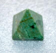 "Pyramid Green Onyx Agate Approx. 1.5-2""-Healing Quartz Crystal-Energized"