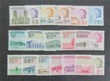 nystamps British Antigua Stamp # 167-182 Mint Og Nh $36 U4y1440