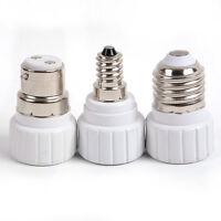 E14 E27 to GU10 Light Bulb Lamp Socket Adaptor Extender Holder Lamp Holder White