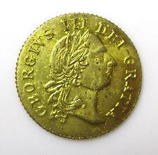 George III Die Gratia gaming token - 1797 - Brass - the Good Old Days