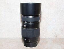 Tamron AF 70-300mm F/4-5.6 Di LD Macro Lens for Nikon - Black with hood