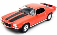 CHEVROLET Camaro - 1971 - orange / black - Maisto 1:18