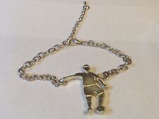 Football Control GT5 Fine English Pewter on a Anklet / Bracelet