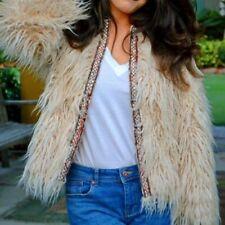 Zara Faux Fur Outer Shell Hip Coats, Jackets & Waistcoats for Women