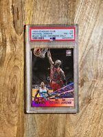 1993-94 Topps Stadium Club Beam Team Members Only #4 Michael Jordan PSA 8