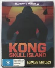 Kong: Skull Island Steelbook - Australian Exclusive Limited Edition Blu-Ray