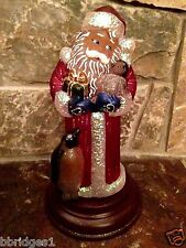Old World Christmas - 2013 Santa with Penguin Pals Light - 29th Ed. [529767] NEW