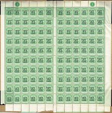 Mint Never Hinged/MNH Sheet South Africa Stamps (Pre-1961)