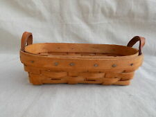Lavender Booking Basket Basket Longaberger 1993