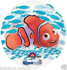 "GIANT 26"" CLEAR SEE THRU  BALLOON DISNEY PIXAR NEMO FISH HELIUM OR AIR"