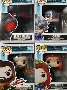 Aquaman Funko Pop Figures Brand New - YOU PICK FROM LIST