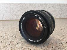 Objectif Yashica ML 50 mm 1:1 .4
