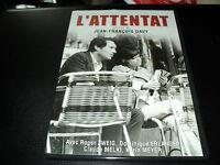 "DVD NEUF ""L'ATTENTAT"" Roger ZWEIG, Dominique ERLANGER / Jean-Francois DAVY"
