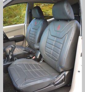 Mitsubishi L200 Barbarian Replica Waterproof Leather Look Tailored Seat Covers