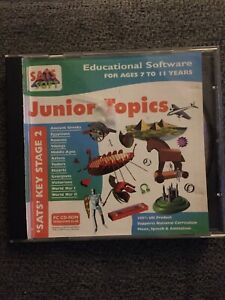 SATS Soft History Educational Software Ages 7-11, Key Stage 2