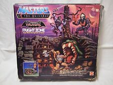 1985 MOTU He-Man Evil Horde Fright Zone Masters of The Universe Box 100% MOTUC