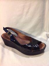Hobbs Black Leather Sandals Size 41