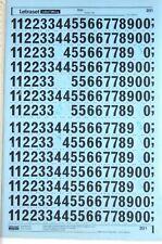 #4681 7.5mm Letraset frotar en carta transferencias 30pt impresionar a