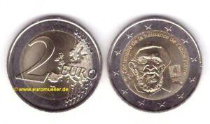 Frankreich 2 Euro Gedenkmünze  2012 - Abee Pierre - unc.